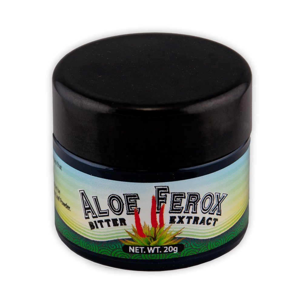 Aloe ferox bitter extract