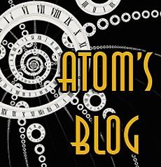 Atom's Blog by Atom Bergstrom