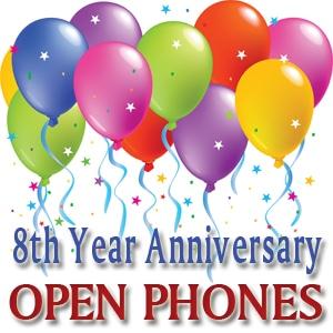 Open Phone 8th Anniversary