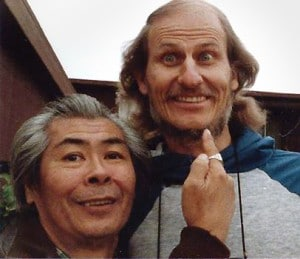 Adano Ley and Atom Bergstrom in 1988