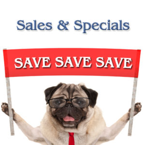 Sale Items & Specials
