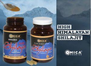 Omica Organics High Himalayan Shilajit