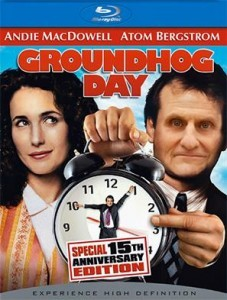 Groundhog Day starring Atom Bergstrom