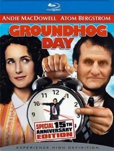 Groundhog Day starring Atom Bergstrom