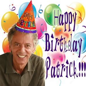 Happy Birthday Patrick!