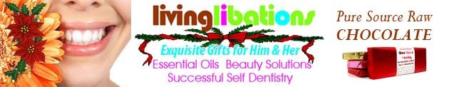 Living Libations Banner Christmas