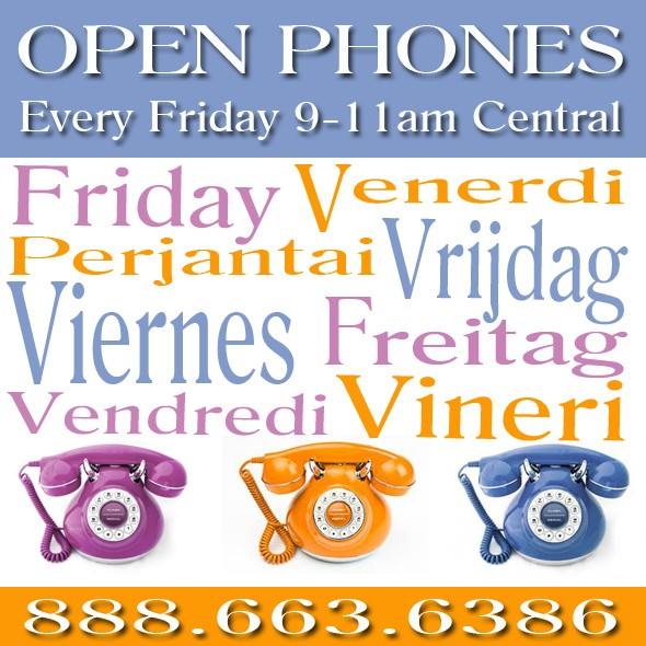Open Phone Friday Languages