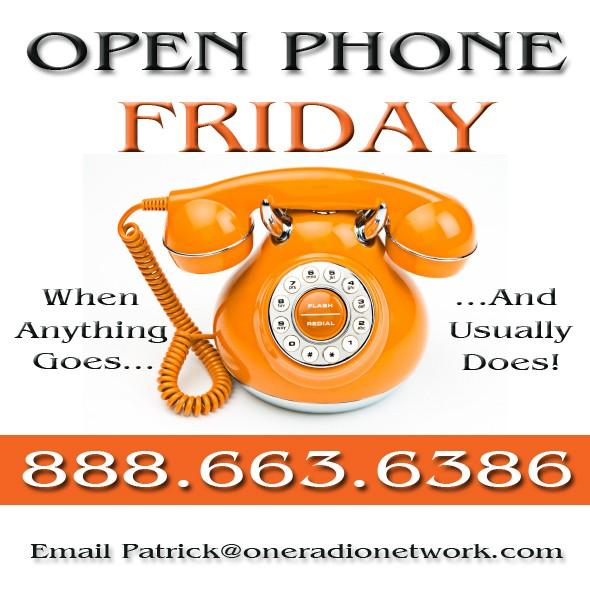 Open Phone Friday Orange