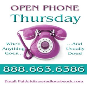 Open Phones 3 Thursday