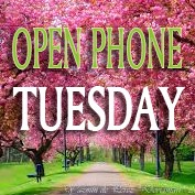 Open phone Tuesday Spring