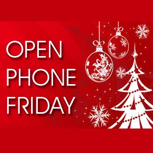 Open phone christmas