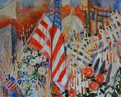 September 11th Attack by Ingrid Neuhofer Dohm